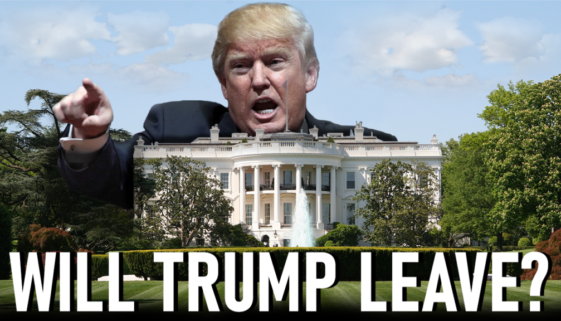 Will Trump Leave Office?