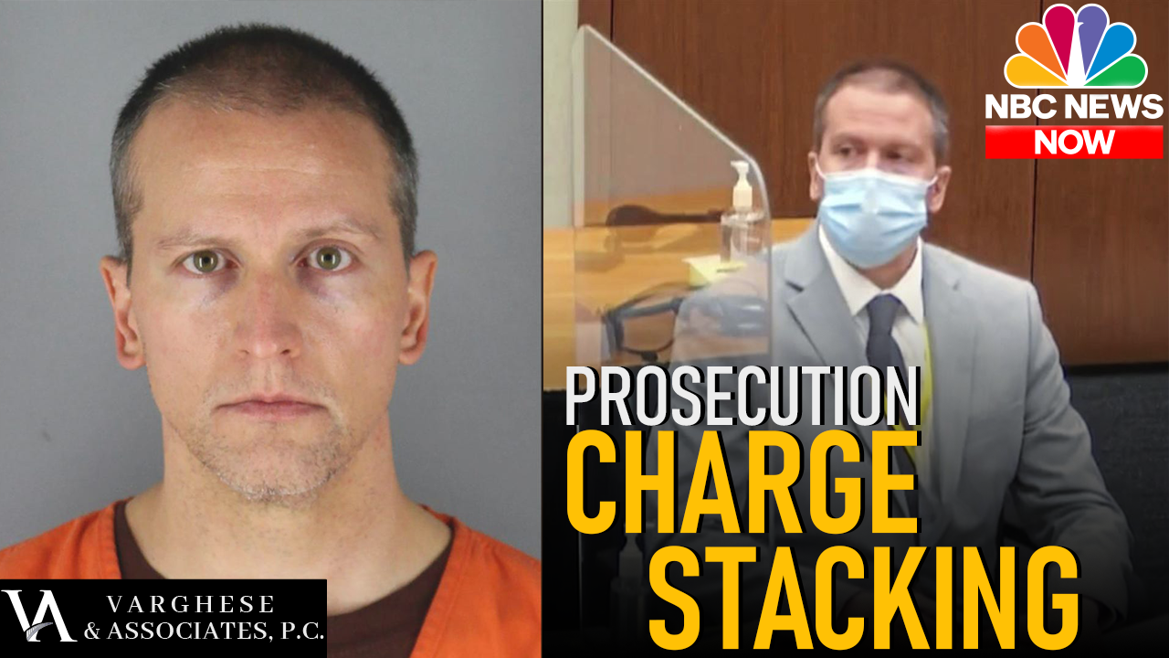 Derek Chauvin Charge Stacking