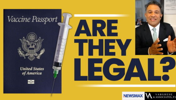 Are Vaccine Passports Legal?
