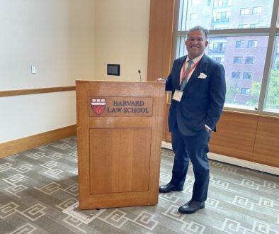 Vinoo Varghese Teaching at Harvard Law School